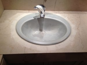 Reparación lavabo Madrid antes